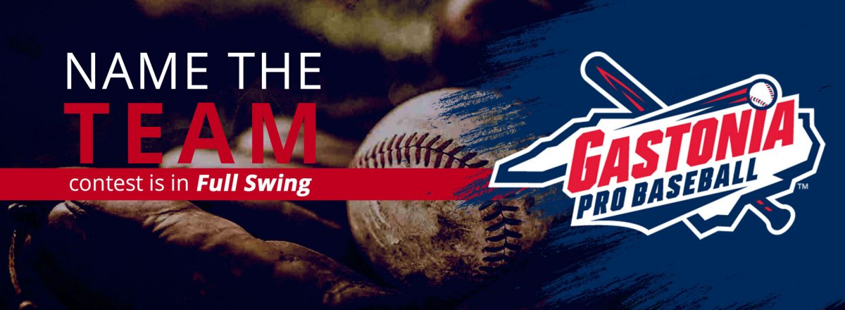 Gastonia Professional Baseball Announces Team Name Finalists